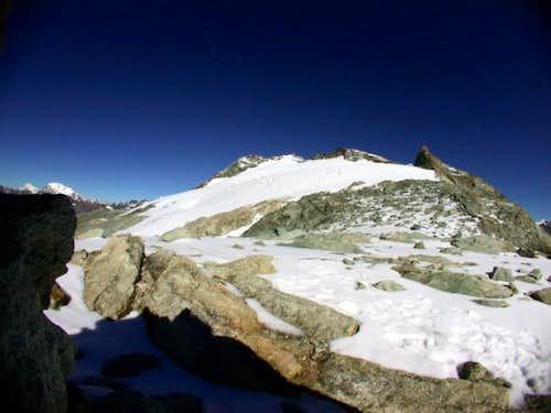 Mont Gelè massif, seen from...