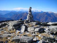 Summit of Madom da Sgiof 2265m
