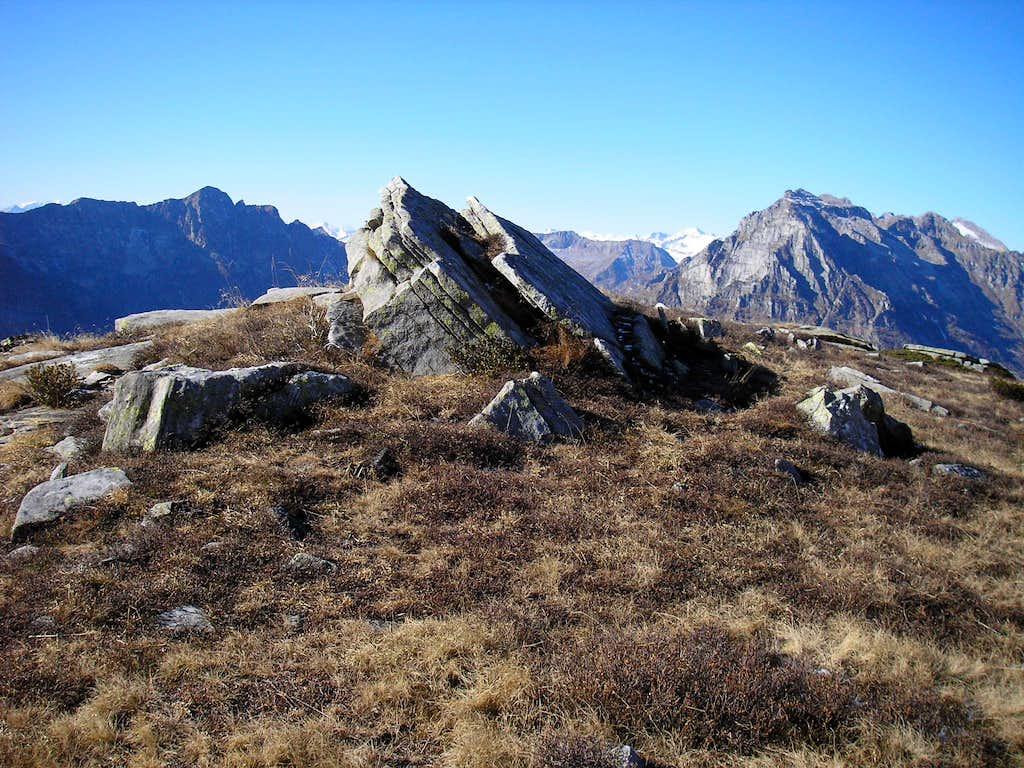 Ascent to Poncione d'Alnasca