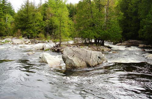 Snowmelt in the Adirondacks