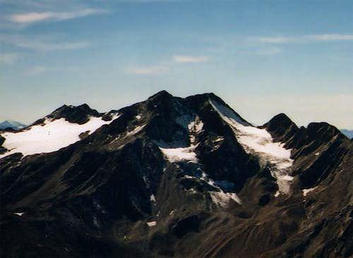 Saldurspitze seen from the...