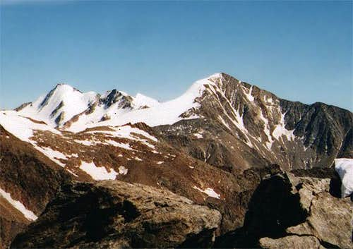 Similaun, seen from the...