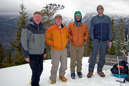 Gannett Peak Ski Tour, May 2009