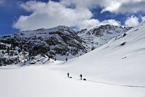 Gannett Peak Ski Tour, May 2009
