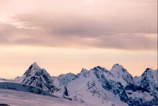 The multiple peaks of...