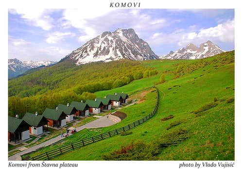 Komovi from Stavna