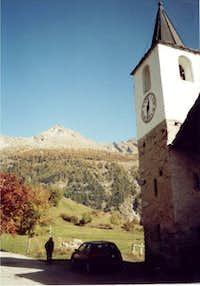 october, the Becca di Viou,...