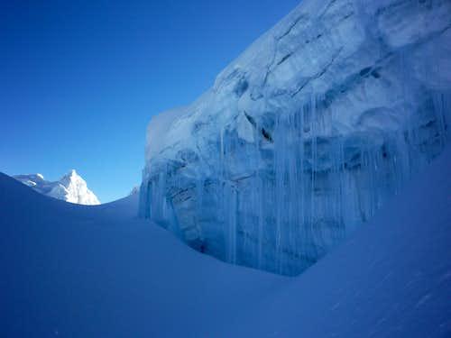 Pisco glacier