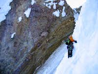 Entering the second gully on...