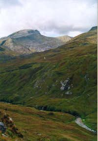 october, ben nevis seen from...