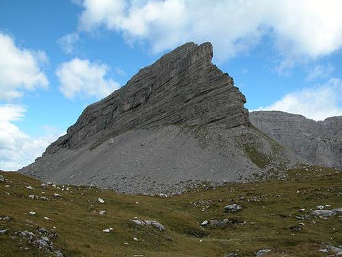 Monte Turrion Basso (2384m)...