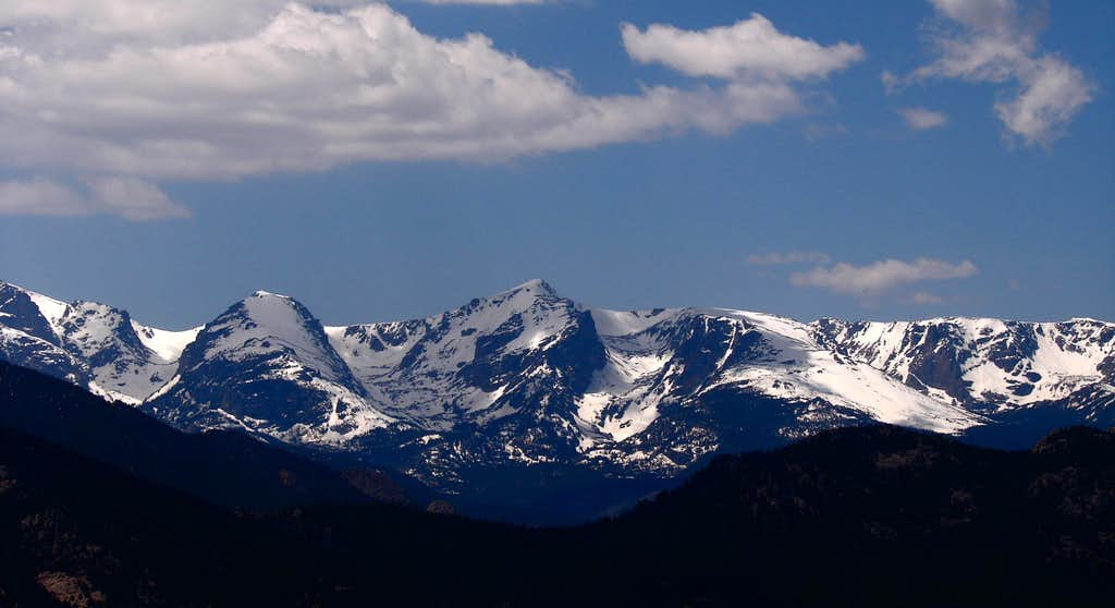 The Peaks of the Continental Divide - Rocky Mtn National Park