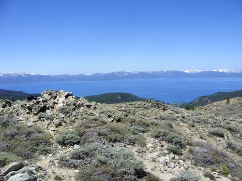 Lake Tahoe from Duane Bliss Peak