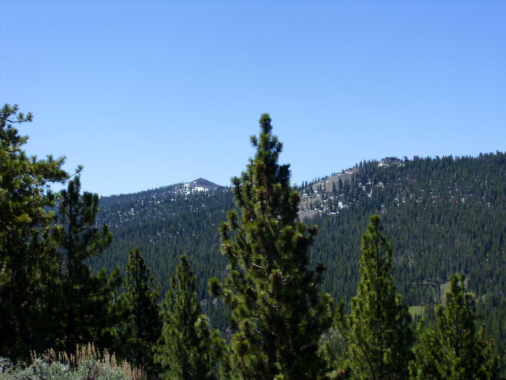 Genoa Peak and South Camp Peak