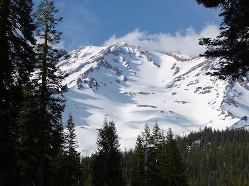 Mt Shasta, Casaval Ridge