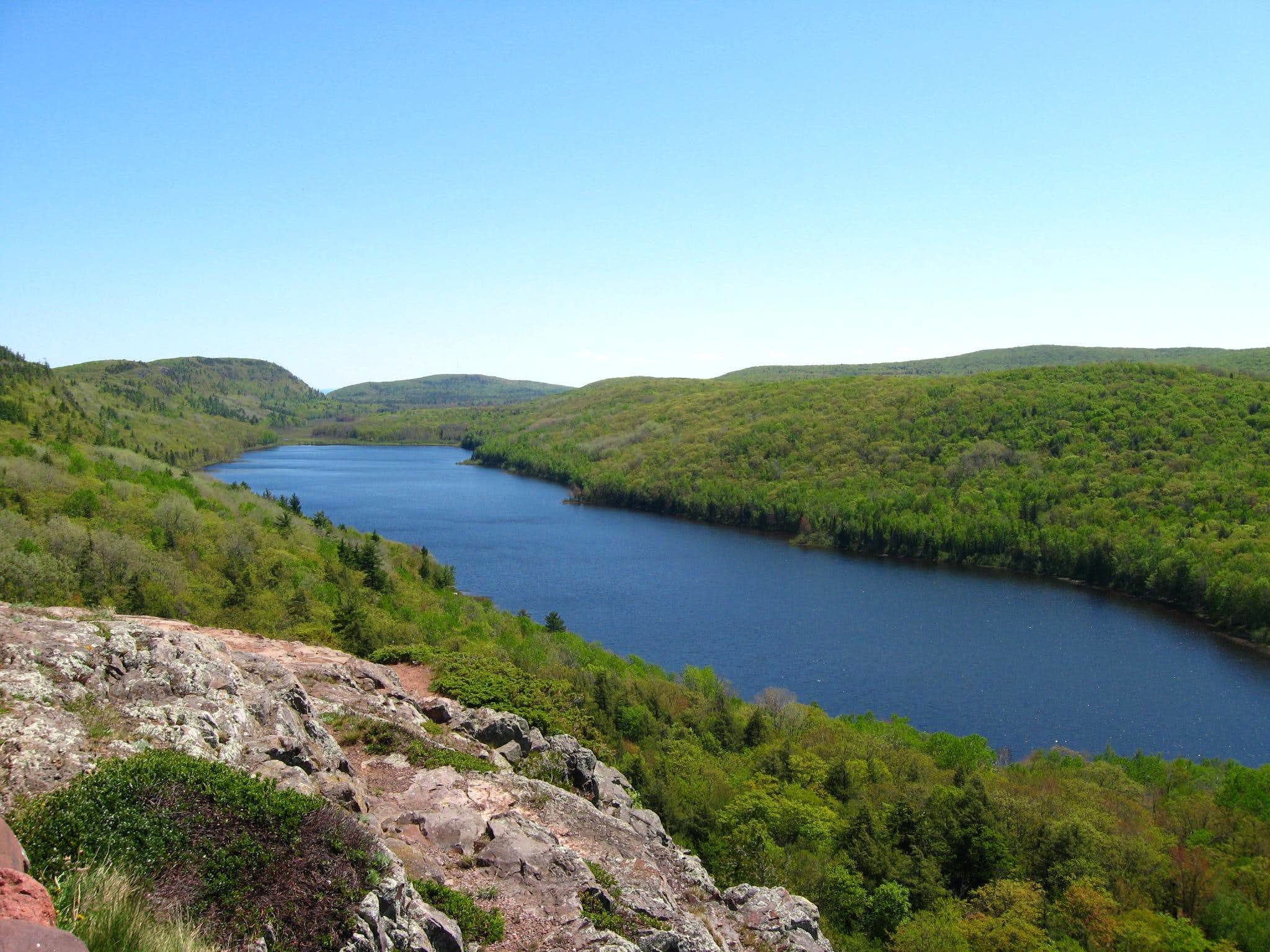 Backpacking the Porcupine Mountains, May 2009