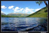 Posarym lake