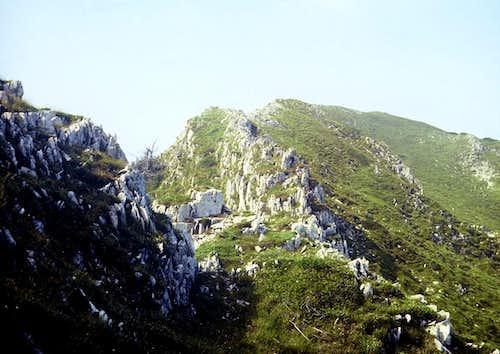 Oslea Ridge, Vâlcan Mts