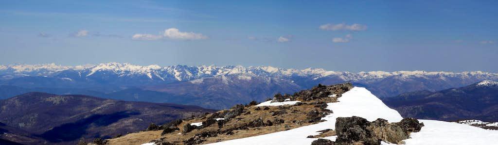 View North Panorama
