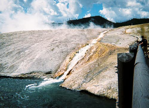 Excelsior Geyser Crater and Firehole River