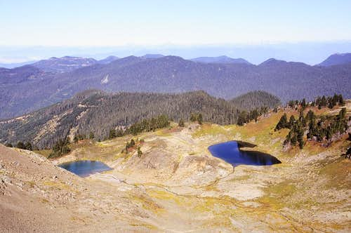 Kidney Lakes from Trail's End