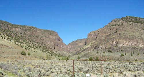 Catlow Rim and Home Creek Canyon