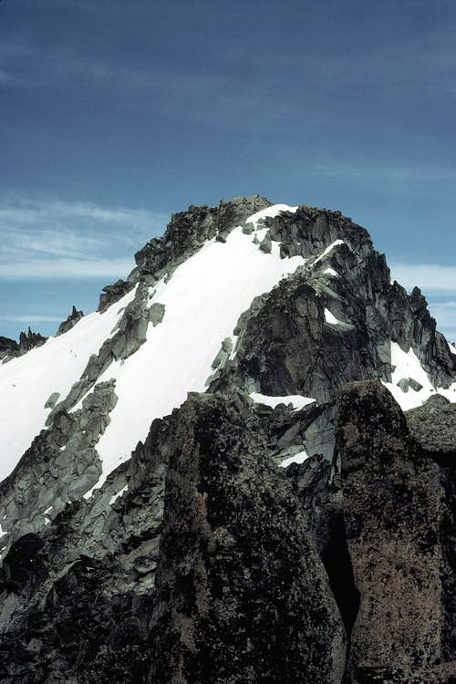 The Summit of Mount Stuart from the False Summit
