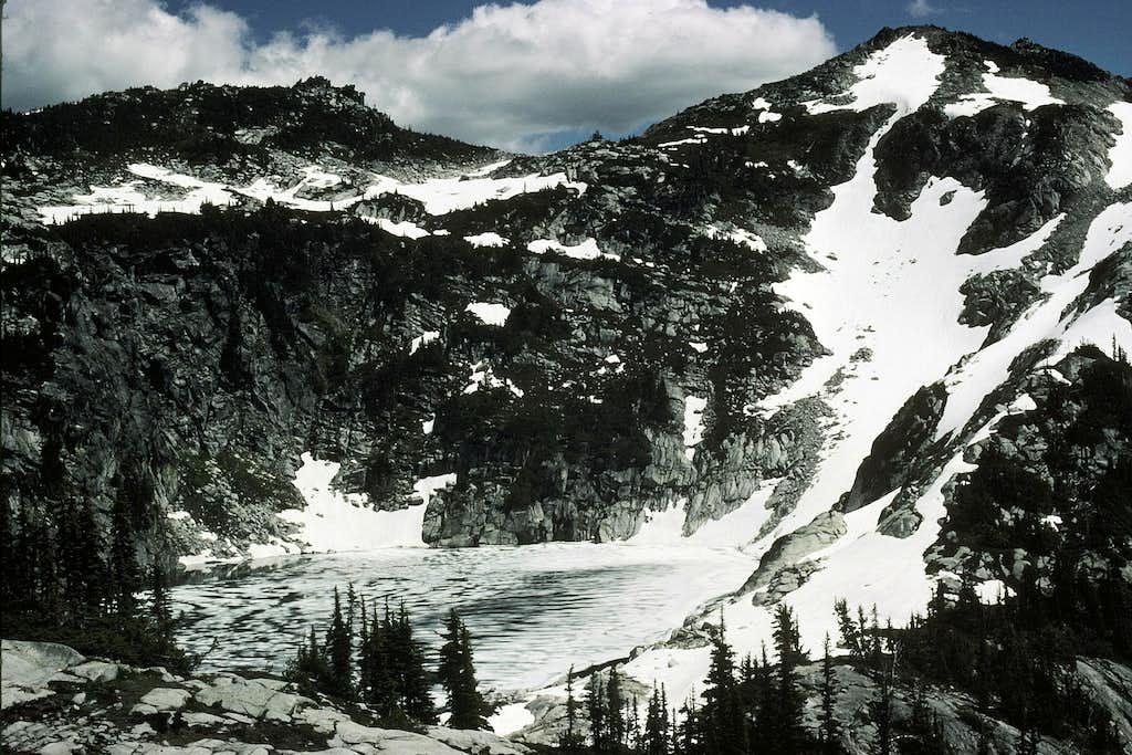 Granite Mountain from Upper Robin Lake