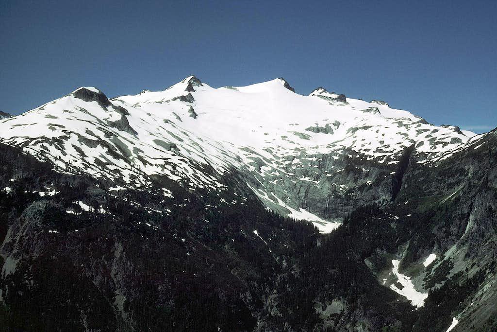 Mount Daniel from Robin Lakes