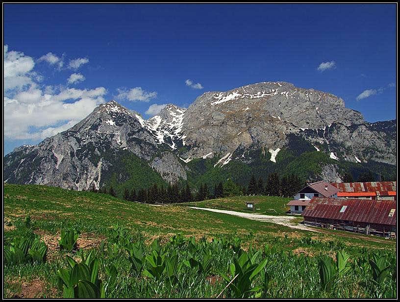 Monte Cavallo di Pontebba / Rosskofel