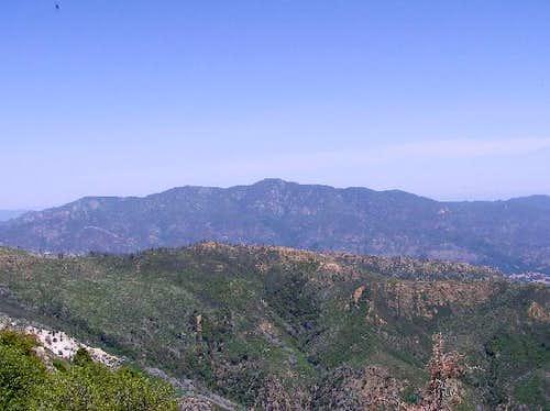 Juniper Serra Peak from Cone...