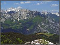 From Crete dal Cronz towards Gartnerkofel