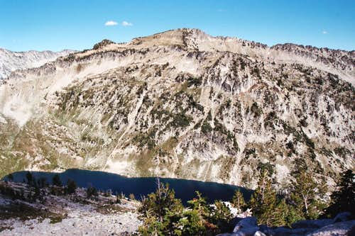 Unnamed Peak 8,924 and Eagle Lake