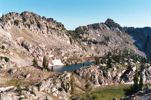 Unnamed Lake on Peak 8,924