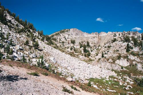 Hiking Toward the Southwest Basin