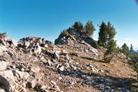 The Summit of Unnamed Peak 8,924