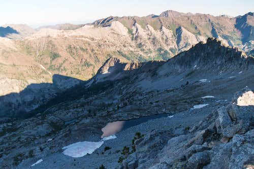 Unnamed Tarn, Peak 8,924, Wallowas