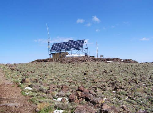 Solar Array found on summit