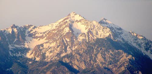 Hounds Tooth, West Twin, & Sunrise Peak