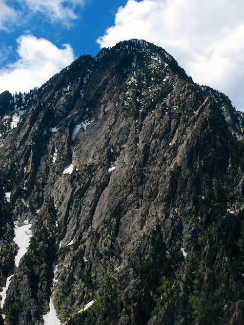 Storm Mountain closeup