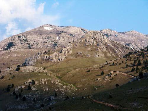 Dinara mountain