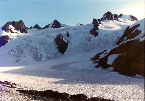 Mount Olympus from the Blue Glacier Moraine