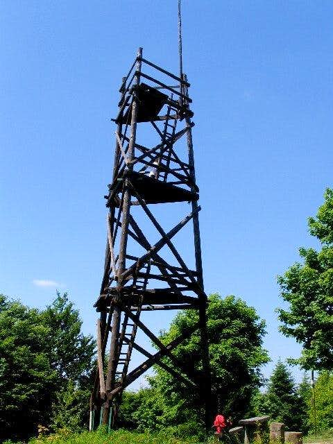 Lookout Tower on Mount Baranie