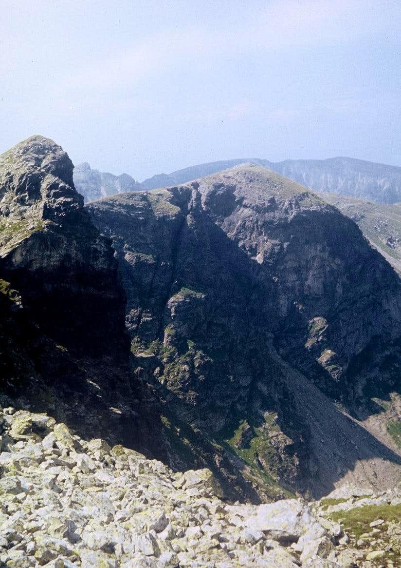 Cliffs of Gemănarea