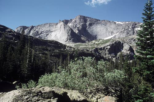 Chiefs Head from Glacier Gorge