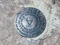 Gunsight Peak Benchmark(UT)