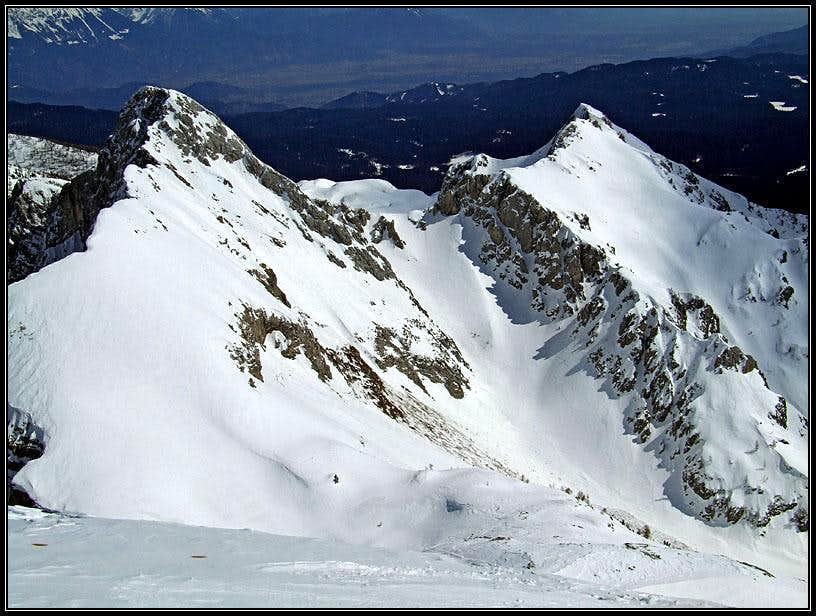 Mali Draski vrh and Visevnik