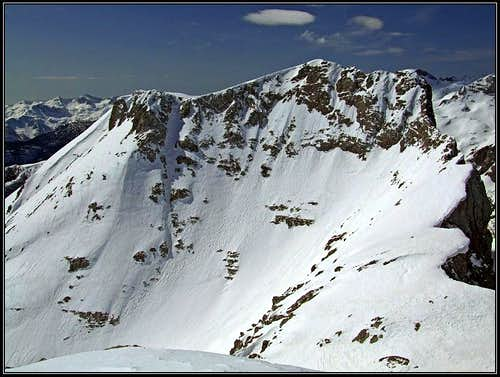 Tosc, east face