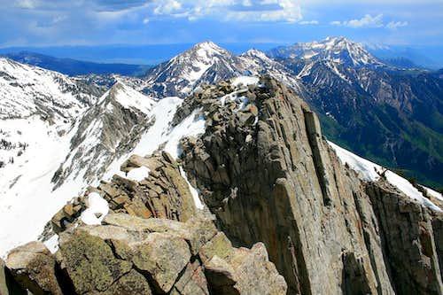 Lone Peak, south view.