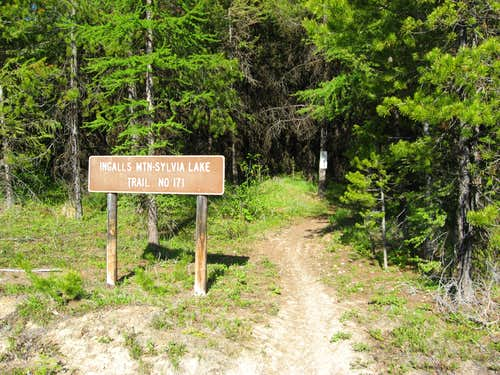Ingalls Mountain Trailhead